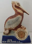 1978 Daviess County Pelican Decanter American Legion 60th Convention New Orleans