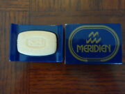 Hermes Paris Eau De Cologne Soap Bar Case Travel Gift Meridien Hotel Perfume Men