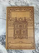 1904 Antique Reference Book How To Collect Old Furniture