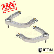 Billet Aluminum Uniball Upper Control Arm System For Toyota Tundra 2007-14 Icon