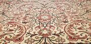 Exquisite Antique 1920-1930and039s Wool Pile Natural Dye Hereke Rug 8and0395andtimes13and0398