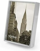 Nambe Treso Picture Frame - Holds One 5 X 7 Photo - Silver