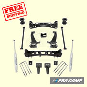 6 Lift Kit W/front Strut Spacers And Rear Es Shocks 15-18 Ford F-150 2wd Pro Comp