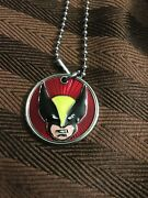 Marvel Comics Wolverine Dog Tags 21 Chain New