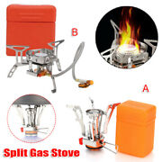 Propane Cooker Burner Stove Gas Outdoor Cooking Camping Stand Bbq Grill Protable