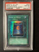 Yugioh Book Of Moon Psa 10 Champion Pack Game 1 Cp01-en002