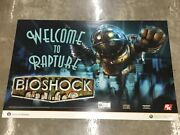 Gaming Video Game Extremely Rare First Promo Poster Xbox 360 New Bioshock