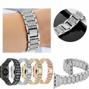 Rhinestone Stainless Band General Apple Watch For 38/40mm 42/44mm Series 6 5 4 3