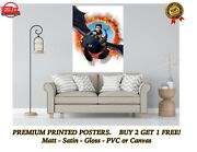 How To Train Your Dragon Toothless Large Poster Art Print Gift A0 A1 A2 A3 A4