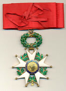 French Order Legion Of Honor Commander Grade In Gold