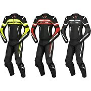 Ixs Rs-700 Menand039s Motorcycle Leather Suit Two Piece Summer Racing