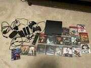Sony Playstation 3 Console Ps3 Slim Game Bundle Lot