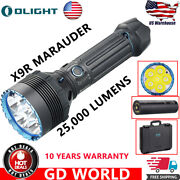 Olight X9r Marauder Black 8-level Output Selection Torch Rechargeable Flashlight