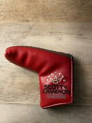 Scotty Cameron Putter Head Cover Blade Milled Putters Titleist Mint Condition