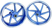 15-18 Bmw S1000rr Front And Rear Hp Forged Wheel Rims Anodized