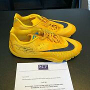 2015-16 Paul George Game Used Signed Nike Hyperlive Shoes Sneakers Beckett Jsa
