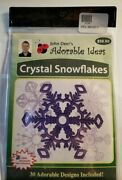 John Deer's Crystal Snowflakes Embroidery Cd, 30 Adorable Designs New/sealed