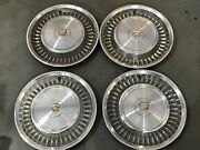 Set Of 4 Cadillac Deville Fleetwood Hubcaps Wheel Covers 15 1971 1972 2007