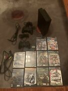 Sony Playstation 2 Console Bundle 10 Games 2 Controllers 2 Memory Cards And More