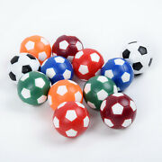 Plastic Foosball Balls Fussball Ball Replacement For Soccer Table Game 12pcs