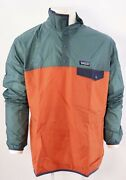 Houdini Snap-t Jacket Men Chaqueta Pullover Giacca Orange Size L New