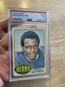 Walter Payton Rookie Psa 3 Topps 1976 Chicago Bears Antique Collector Card 148