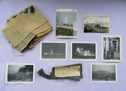 Korean War Souvenir Grouping Communist Shell Fragment With Provenance And Photos