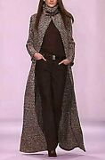 Collection Purple Label Fall 2001 Runway Sweater Jacket Coat Us 4