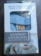 Bamboo Charcoal Air Purifying Bag 1 Bag. Absorbs Odors In Every Room
