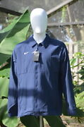 Nwt Nike Therma Midweight Jacket Blue Ci4472-419 | Men's Size Large