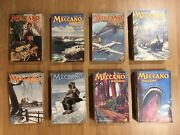Meccano Model Magazines 8 Years Collection 93 Books From 1948-1954 In Concession