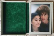 Signed Yoko Ono Double Fantasy John Lennon Kishin Shinoyama Photo Book Taschen