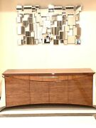 Constantini Pietro Wood Mid Century Modern Buffet Console Sideboard Cabinet