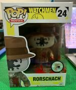 Pop Funko Bloody Rorschach Watchmen Sdcc 2013 1/480 24 Rare And Limited