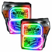 Oracle Dynamic Colorshift Headlight Halo Kit For 2011-2016 Ford F-250 F-350