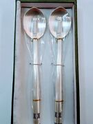 Pure 999 Sterling Silver Spoon And Chopsticks