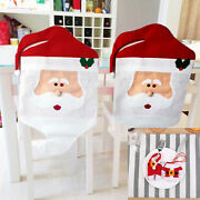 4/6/8/10/12ps Christmas Chair Back Cover Tableware Silverware Cutlery Holder Bag