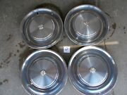 1973 Cadillac Fleetwood Brougham 16 Stainless Rim Hubcap Wheel Cover P/h 2011
