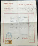 [44872] Receipt Of Gold Shop 1955 Le Loi Can Tho Vietnam With Stamp And Seal