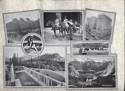 1923 Canadian Pacific Railroad And Steamship Service Pacific Coast Tours Rockies