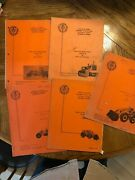 Assorted State Of Ca Highway Heavy Equipment Maintenance Manuals For Loaders Gr
