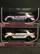 Nassau And Suffolk County 124 Scale Police Car 2-pk Ford Explorers