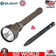 Olight Javelot Turbo Dt 3-in-1 Tail Cap Torch Flashlight And Open2 2-in-1 Penlight