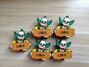 10 Pack The Simpsons Krusty Eatn Acid Lsd Doses L 1 Lapel Hat Pin Tripping