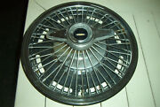 Vintage 65 Olds Wire Wheelcover W/2 Bar Spinner Used 442 And Full Size Olds