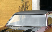 Ford Maverick Mercury Comet Set Windshield Moulding Trim Top Stainless New