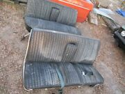 67 Chrysler New Yorker Newport Power Bench Seat Works Matching Rear Included Oem