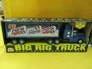 Edand039s Variety Store Vintage Pepsi City Force Big Rig Semi Truck And Box Trailer 1