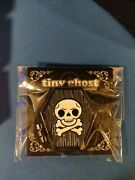 Bimtoy Tiny Ghost Coffin Hinged Enamel Pin Le 100 In Hand
