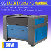 Omtech 60w 28x20 Co2 Laser Engraver Cutter Engraving Machine Motorized Bed